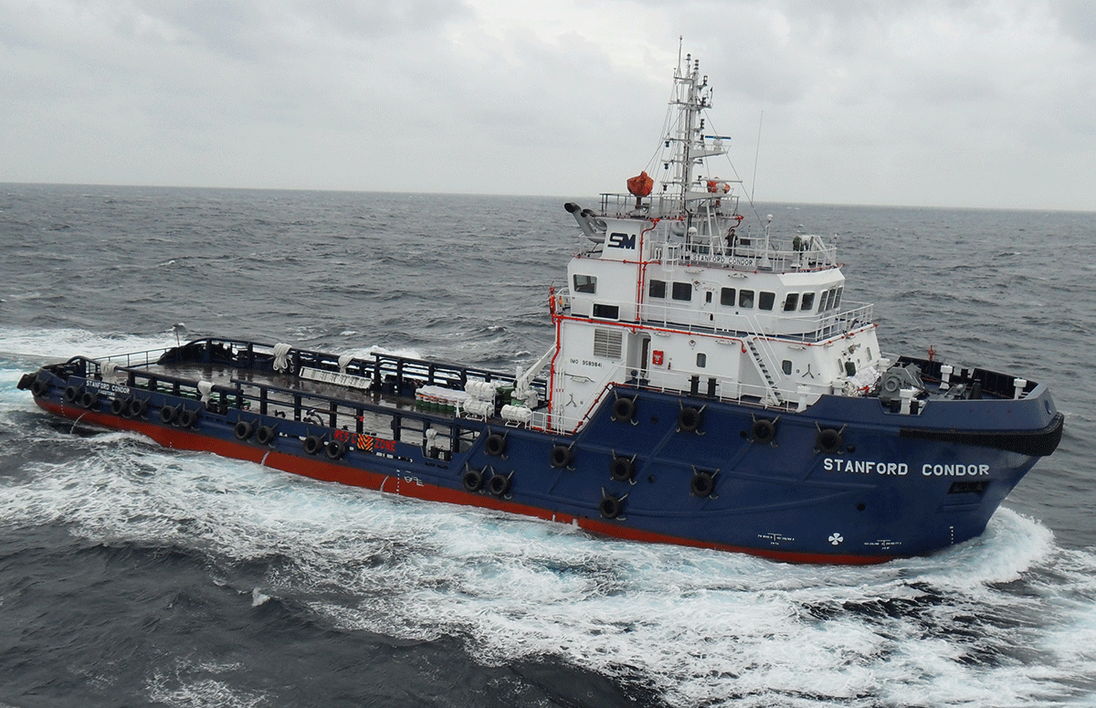 Stanford Condor 1 58M DP1 Multipurpose Vessel